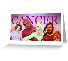 iDubbbz, Filthy Frank (Joji), MaxMoeFoe, Anything4Views CANCER Greeting Card