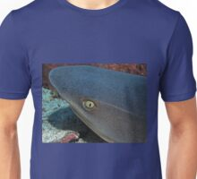 The Eye of a White Tip Reef Shark Unisex T-Shirt