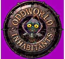 ODDWORLD BIG PLANET Photographic Print