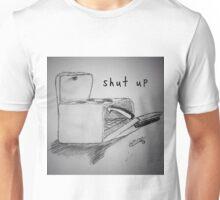 "PUN COMIC - ""SHUT UP"" Unisex T-Shirt"