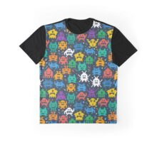 Pixelated monsters Graphic T-Shirt