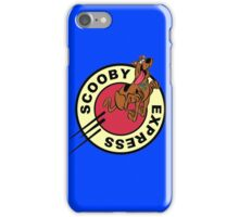 SCOOBY DOO EXPRESS iPhone Case/Skin
