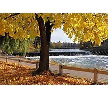 Downtown Bend - Deschutes Dam Photographic Print