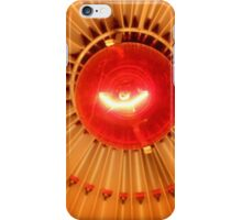 Red Bulb in a Lampshade 2 iPhone Case/Skin