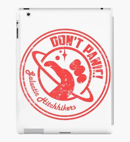 Galactic Hitchhikers Logo iPad Case/Skin