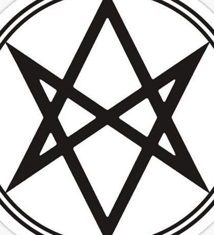 Men of Letters Logo Sticker