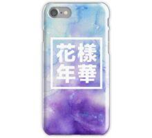 BTS watercolor iPhone Case/Skin