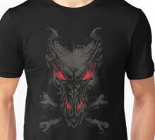 All the powers of Hell - GREY AND RED Unisex T-Shirt