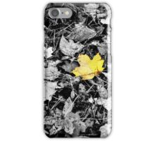 The leaf - selective colour iPhone Case/Skin