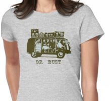 Asheville Or Bust! Womens Fitted T-Shirt