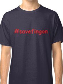 #savefingon Classic T-Shirt