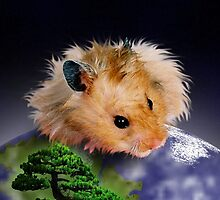 Happy Arbor Day Hamster by jkartlife