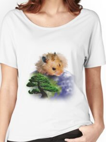 Happy Arbor Day Hamster Women's Relaxed Fit T-Shirt