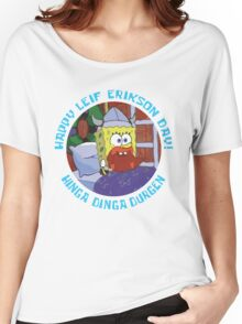 Happy Leif Erikson Day! Women's Relaxed Fit T-Shirt