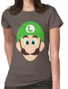 Simplistic Luigi Womens Fitted T-Shirt