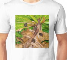 Small bats hanging in tree, Thailand Unisex T-Shirt