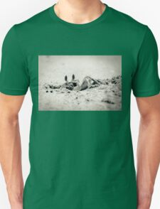 Crab on the beach Unisex T-Shirt