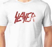 SLAYER Metal Band Logo Blood Spatter Unisex T-Shirt