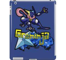 Greninja Pokemon Tee iPad Case/Skin