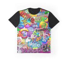 Social Chaos  Graphic T-Shirt