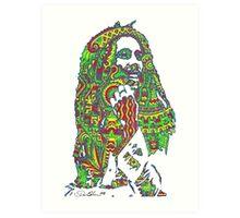 Rasta Vibrations Art Print