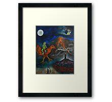 Chagollum Framed Print