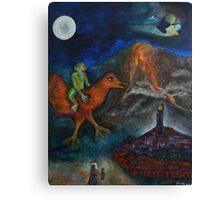 Chagollum Canvas Print