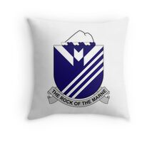 38th Infantry Regiment - The Rock Of The Marne Throw Pillow