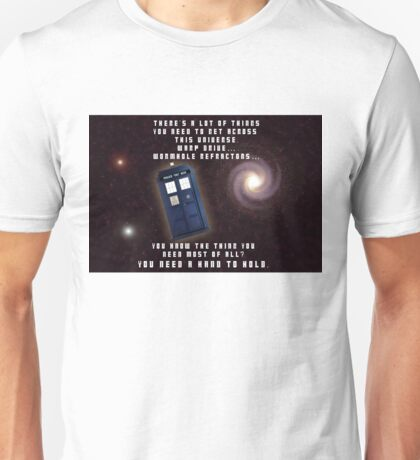 Doctor Who You need a hand to hold Unisex T-Shirt