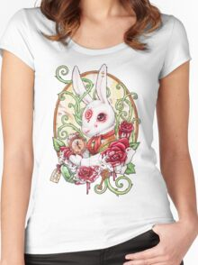 Rabbit Hole Women's Fitted Scoop T-Shirt