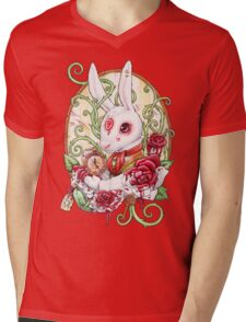 Rabbit Hole Mens V-Neck T-Shirt