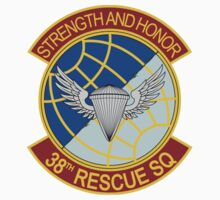 38th Rescue Squadron -  Strength and Honor by VeteranGraphics