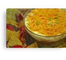 Ole-Reay's 5 Layer Dip  Canvas Print