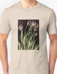 Antique Tulips Unisex T-Shirt
