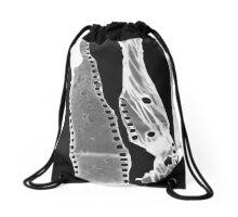 Erased Drawstring Bag