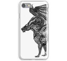 Alert Dragon iPhone Case/Skin