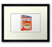JW Cereal Framed Print