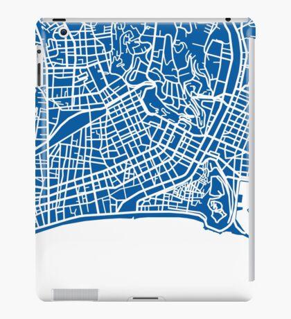 Nice Map - Deep Blue iPad Case/Skin