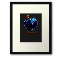 Frodo and Sting Framed Print