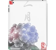 Inked Petals of a Year February iPad Case/Skin