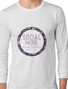 JMU Social Work Long Sleeve T-Shirt