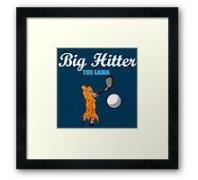 Big Hitter the Lama - Caddyshack Framed Print