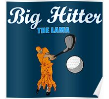 Big Hitter the Lama - Caddyshack Poster