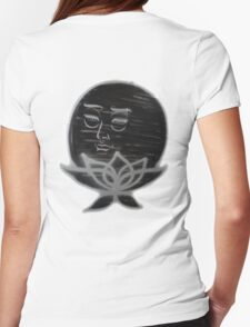 The Lotus Moon of Harlem-Large Womens Fitted T-Shirt