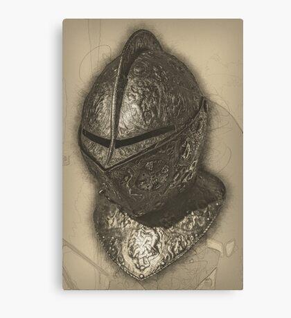 Ornate Helmet Canvas Print