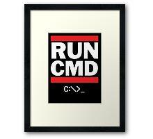 Run CMD - Run DMC Framed Print