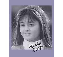 Winnie Cooper Photographic Print