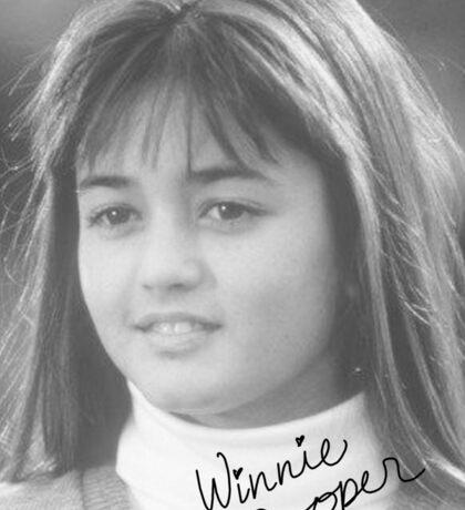 Winnie Cooper Sticker
