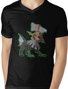 Type: Null green Mens V-Neck T-Shirt