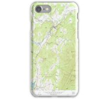 USGS Topo Map  Vermont VT Stowe 104792 1968 24000 iPhone Case/Skin